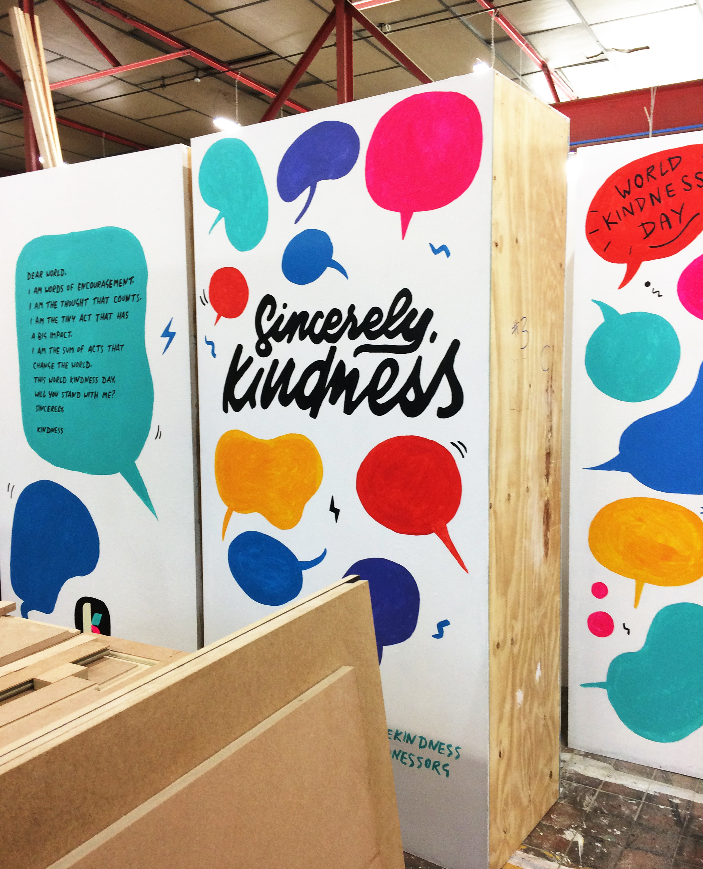 Kindness.org wall