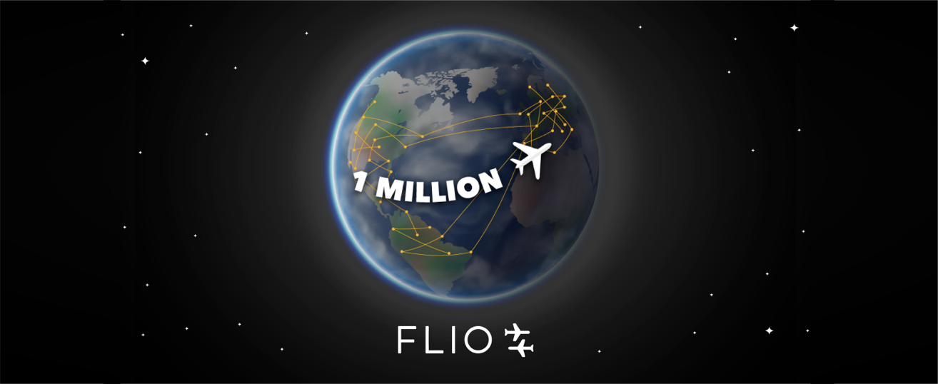 FLIO reaches 1 million app installs