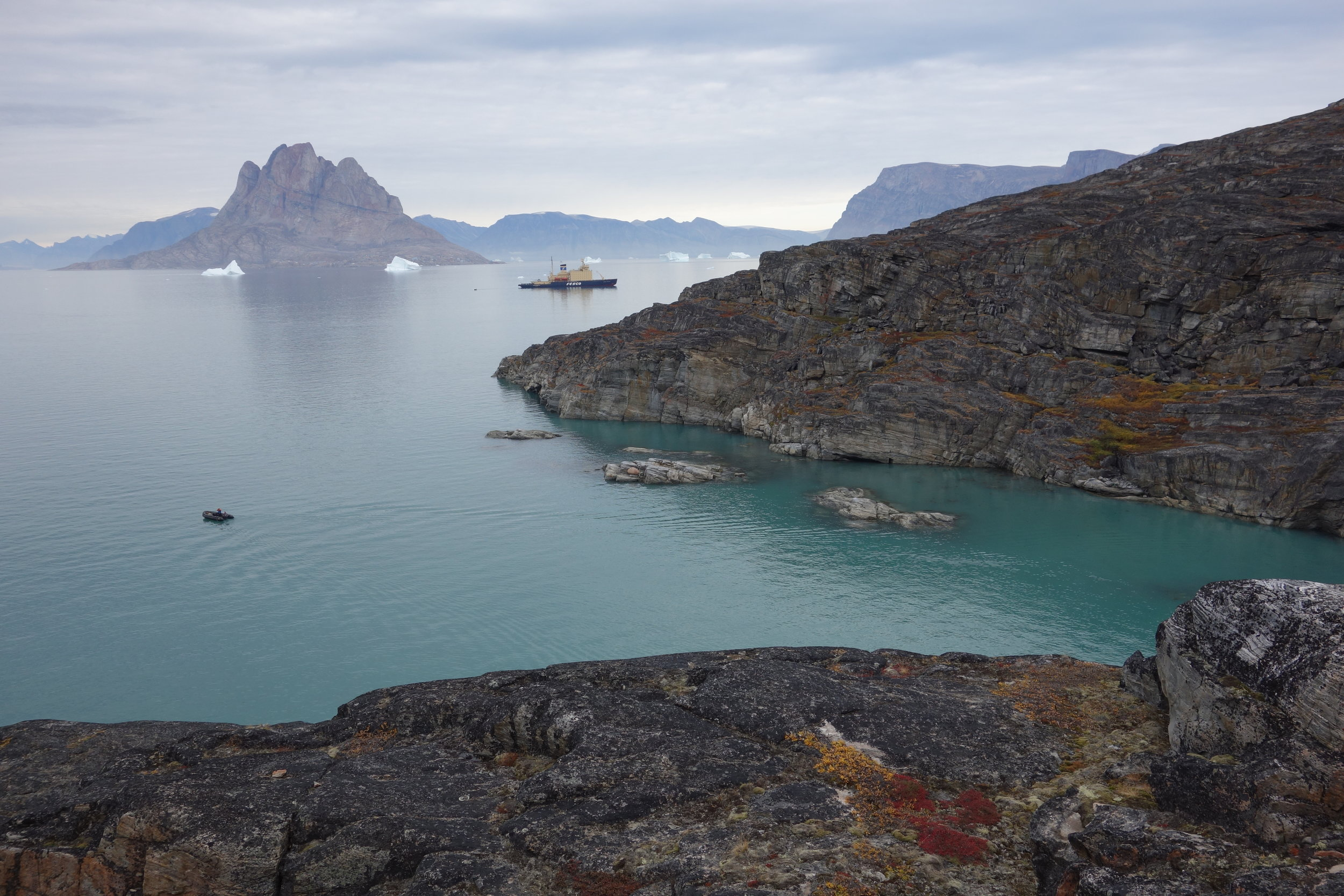 The  Kapitan Khlebnikov , Northwest Greenland