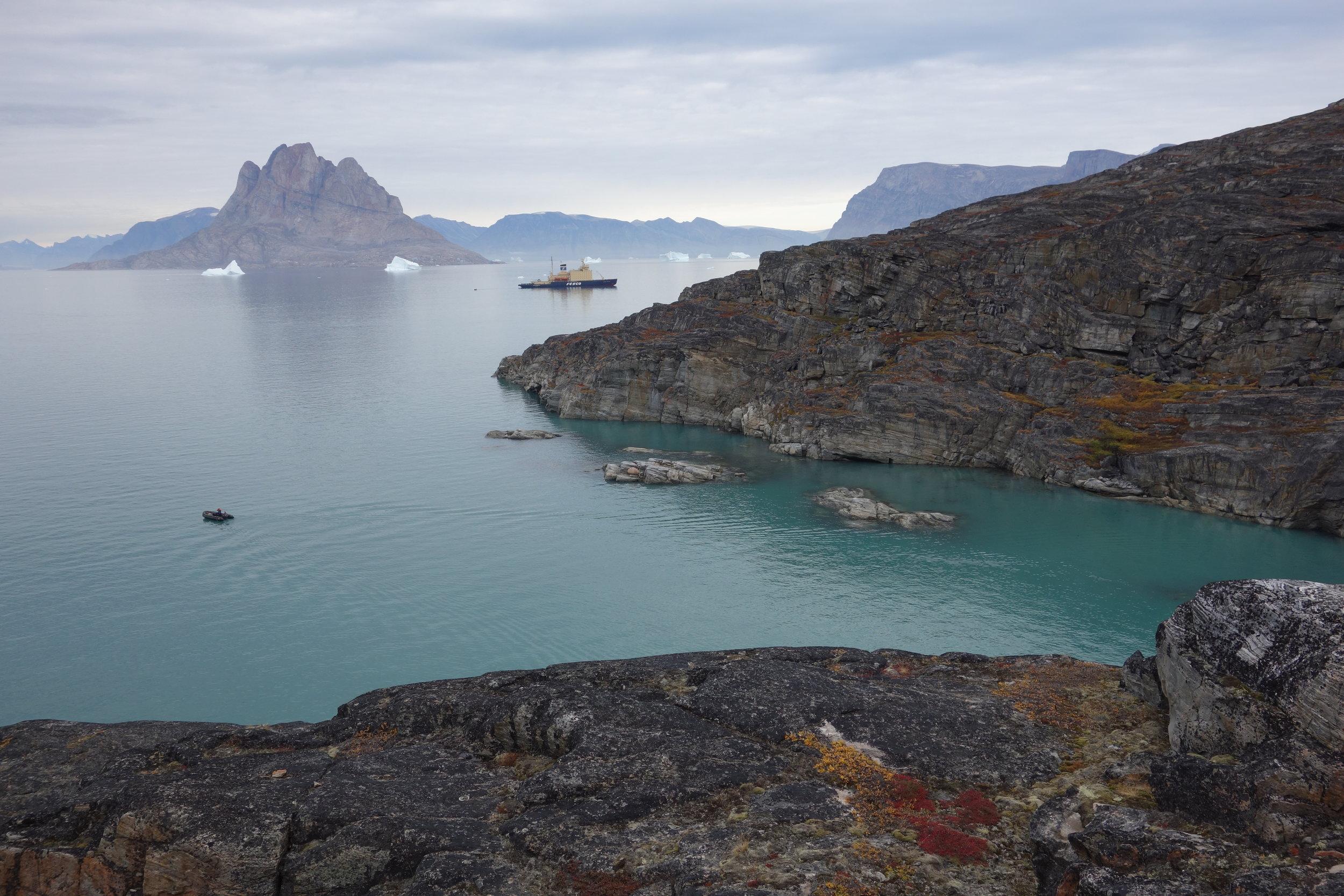 The  Kapitan Khlebnikov , Northwest Greenland
