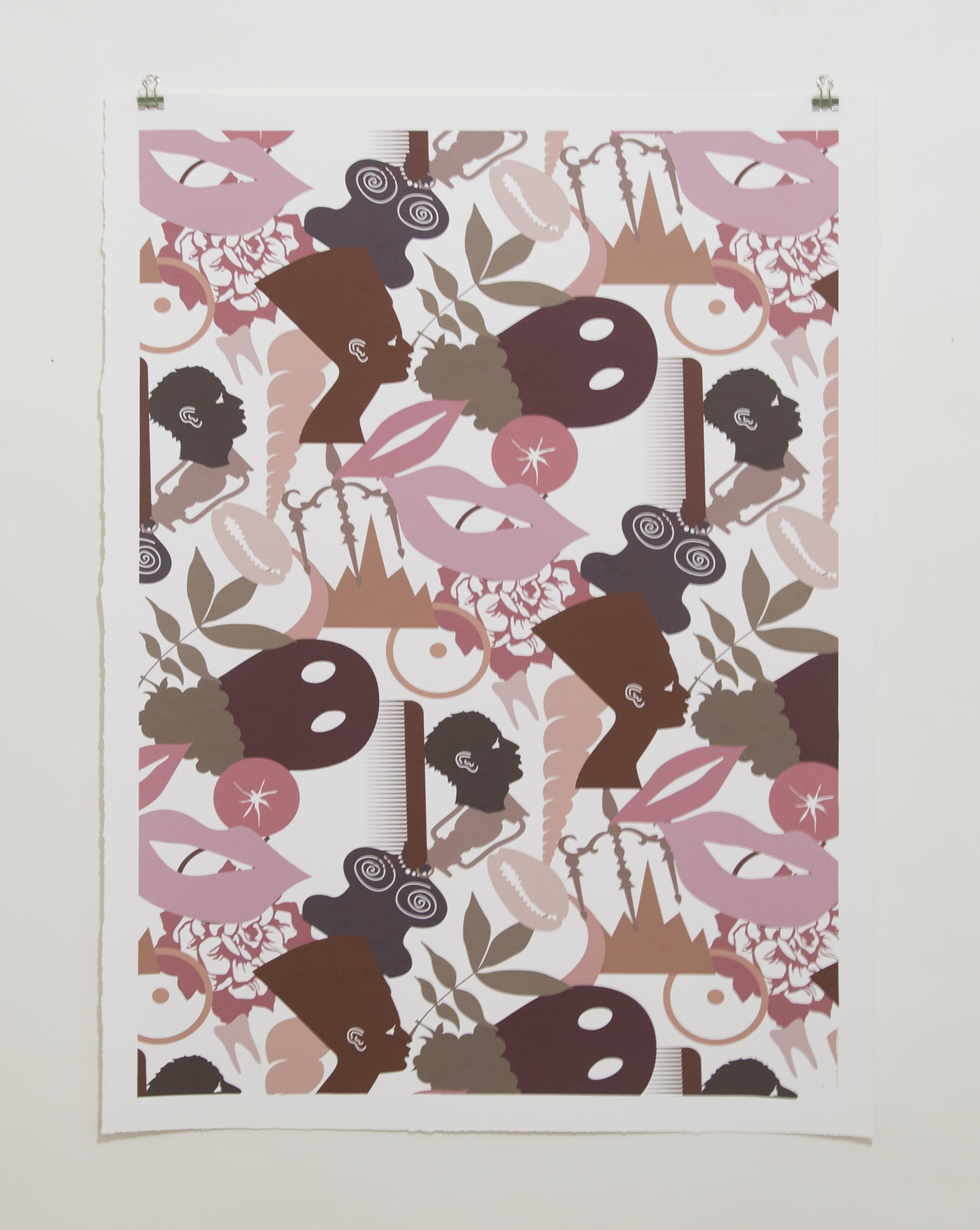 Fleshy , 2015 Digital Print on Cold Press Paper 32 x 22 inches