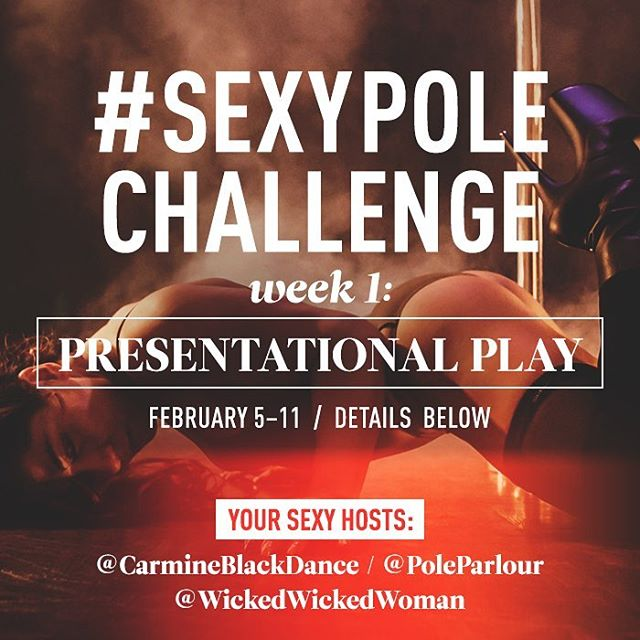 "Today is the last day to submit a video for Week 1 of the #SexyPoleChallenge, with the theme ""Presentation Play""! Check out @sexypolechallenge and sexxxy queen herself @carmineblackdance for inspiration! 🖤🔥✨ And you could win a custom costume piece from the babelicious (and 2017 SPC winner) @kelsea_alabama of @wickedwickedwomen! ✨🔥🖤 #dancesexy #findyoursexy #pdsexy #bringingsexyback #sexyneverleft"