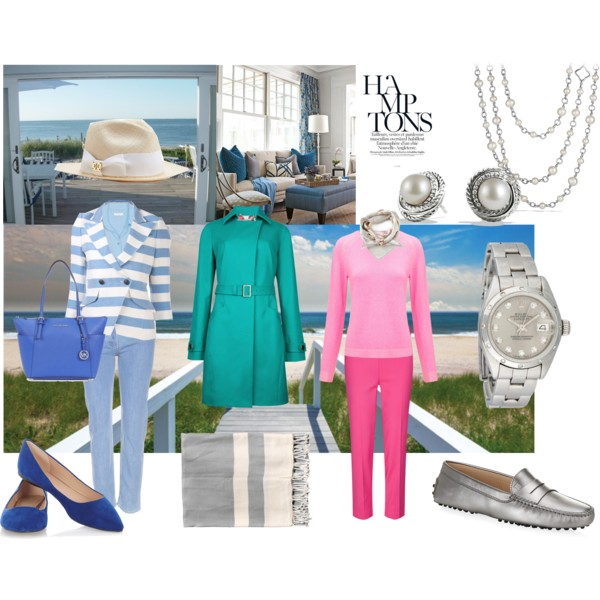 Miscellaneous outfits in Light Summer colors for the Sophisticate Image Archetype.