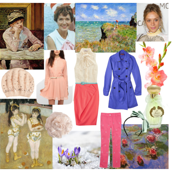 Outfits in Light Spring colors for the Princess Image Archetype.