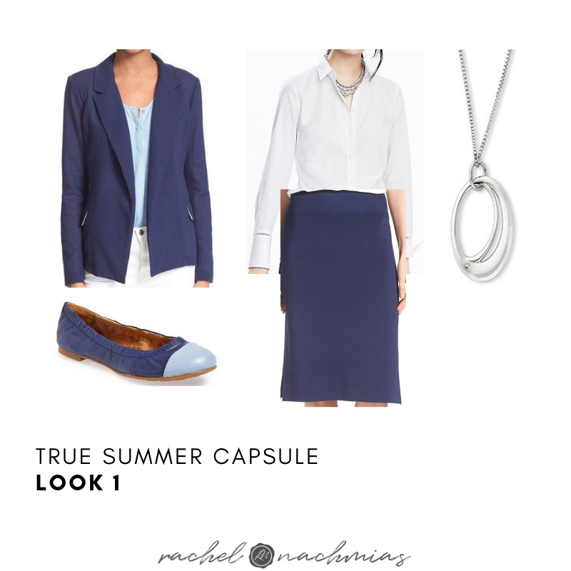 A Professional Capsule Wardrobe True Summer Philadelphia S 1 Image Consultant Best Dressed