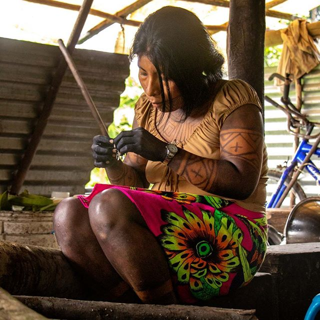 Escape to authentic  #darien #panama #ecotourism #embera #indigenous