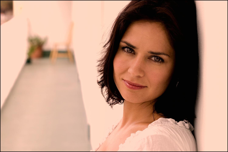 Tanya Memme, actress. Location - Miami Beach.