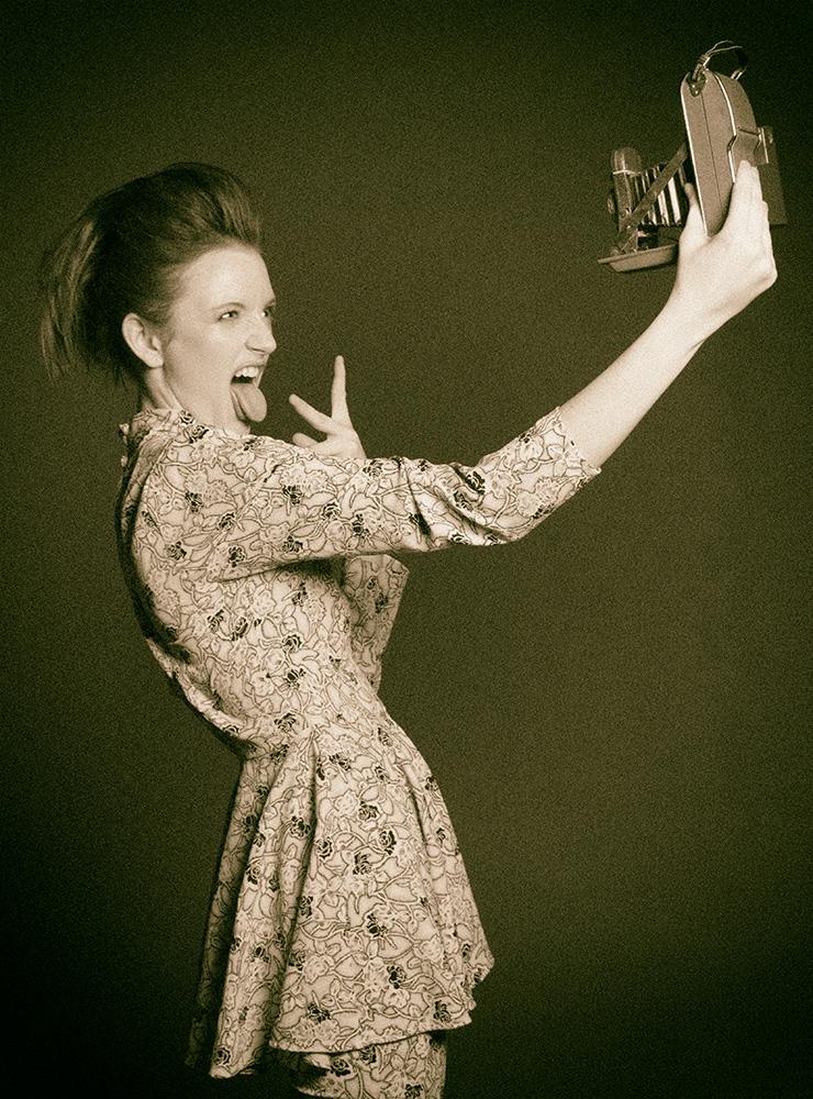 Frugals Vintage Boutique. Model - Olivia Ashton, MUA - Bray: Lilmonsta Artistry, Hair - Vickie Chilla, Location: Leesburg, Florida.