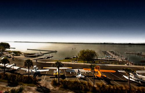 Screenshot from Tavares Seaplane Base and Marina time lapse.
