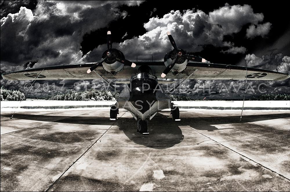 Florida Seaplane Catalina No. 93 Infrared Black