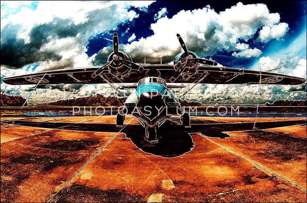 Florida Seaplane Catalina No. 93 Blue Solar