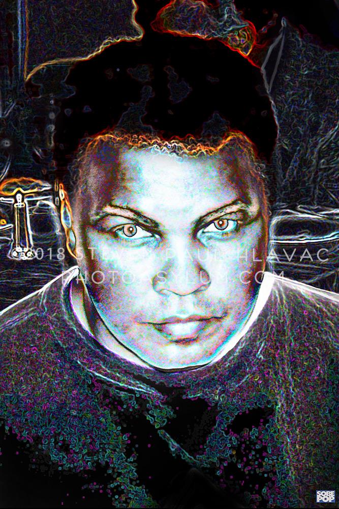 Muhammad Ali - champion boxer