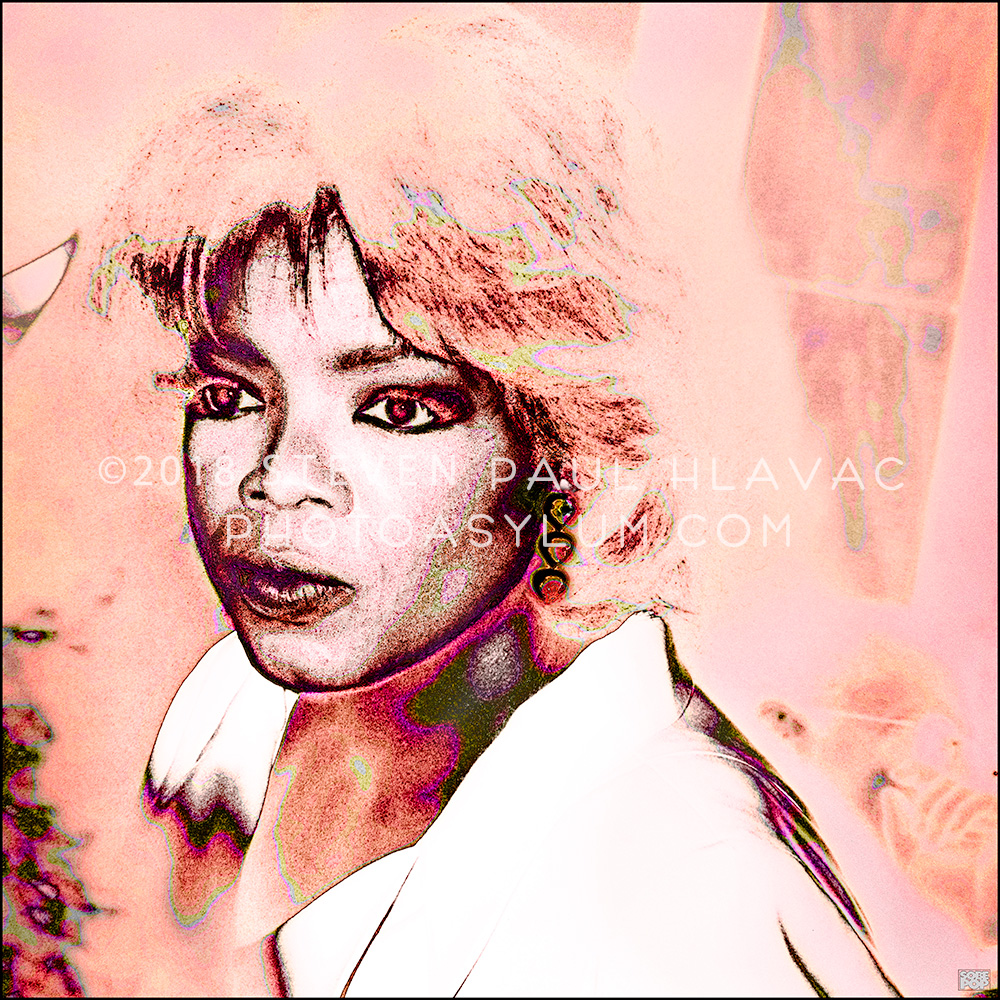 Oprah Winfrey - actress/media producer