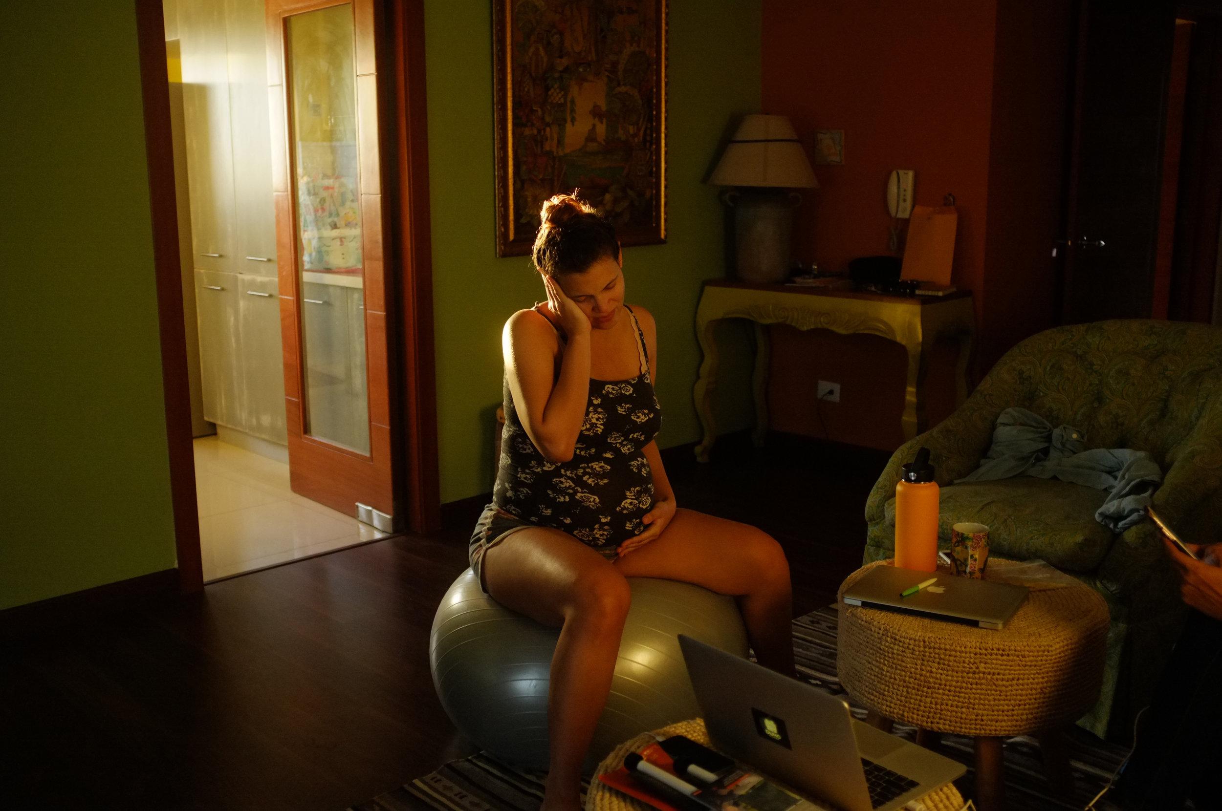 Labor de parto en casita Fotografía Gabriel Valencia