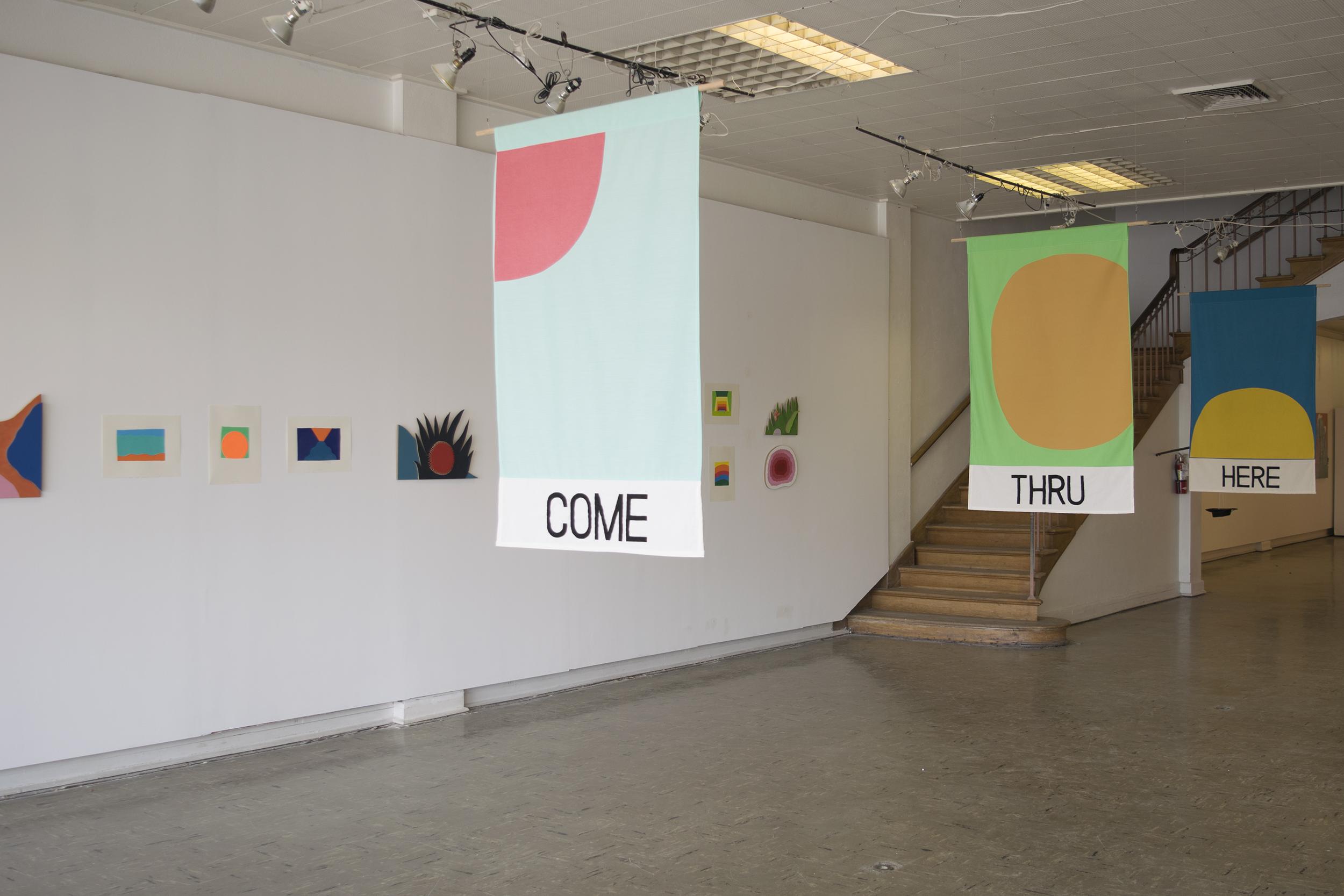 Through Here @ Box 13 Art Space, Houston