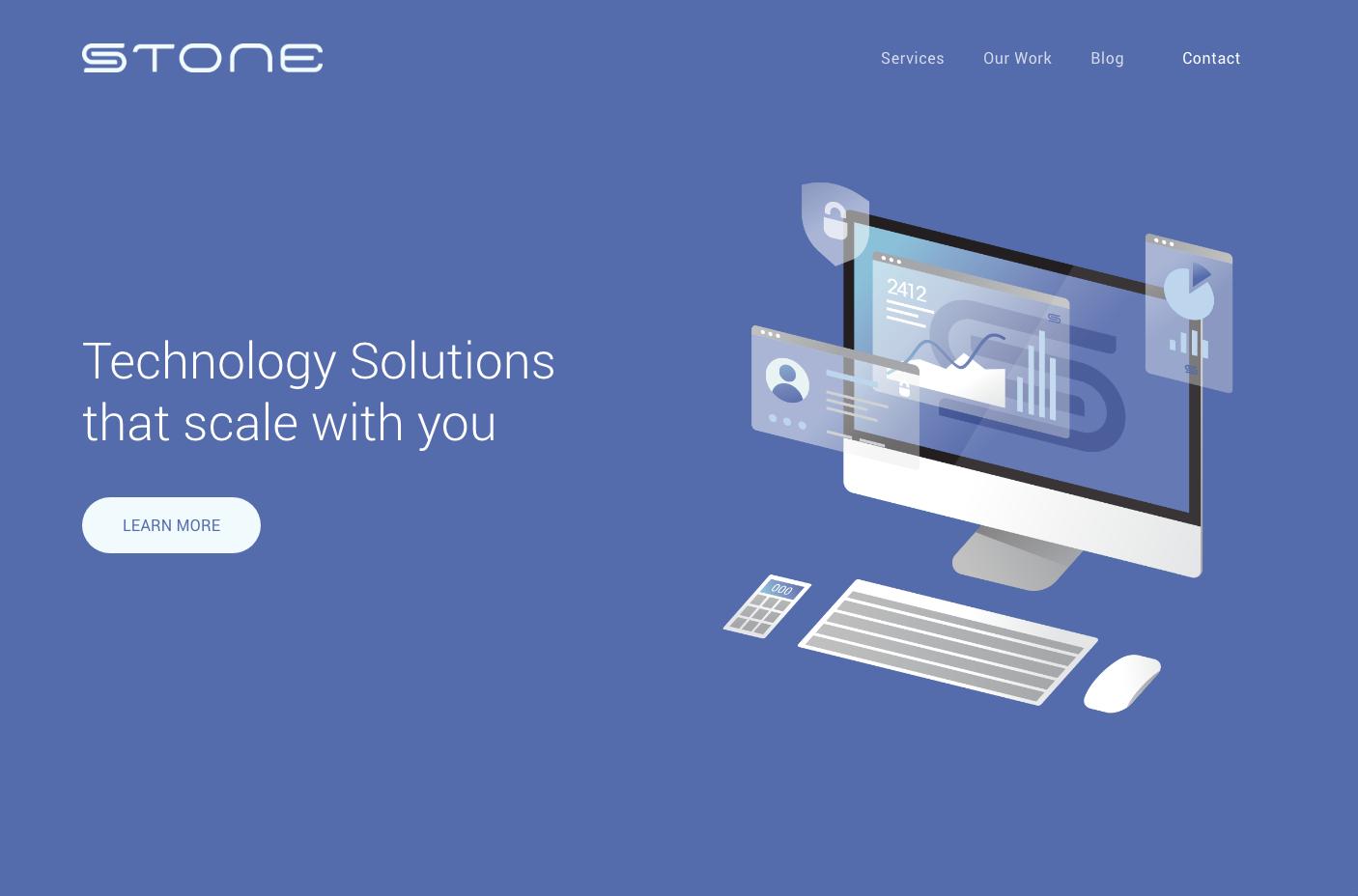 Stone Enterprises New Site