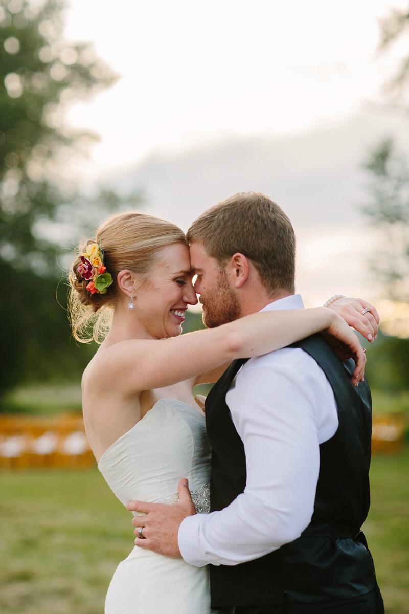 Bride and Groom / Aspen wedding photographer / www.catmayerstudio.com