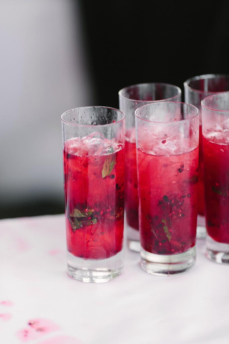 Aspen wedding cocktail hour