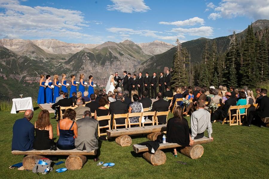 San Sophia Overlook wedding / Telluride wedding photographer / Cat Mayer Studio