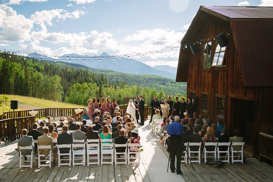 Wedding at Gorrono Ranch in Telluride, Colorado / Photography by Cat Mayer Studio