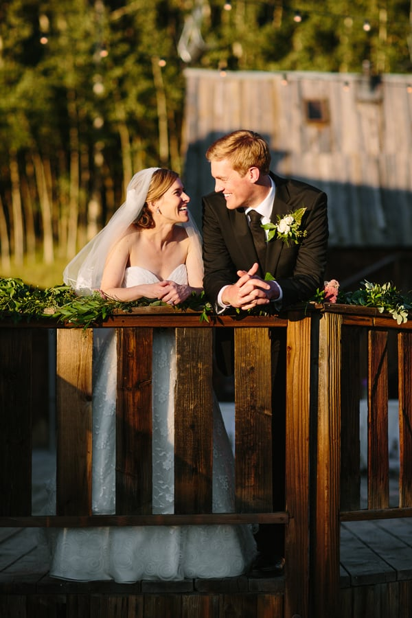 Bride and groom at Gorrono Ranch / Telluride wedding photographer / Cat Mayer Studio