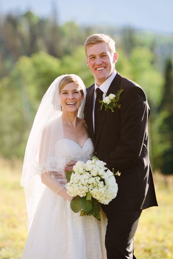 Bride and groom at Gorrono Ranch wedding | Telluride, Colorado | Cat Mayer Studio