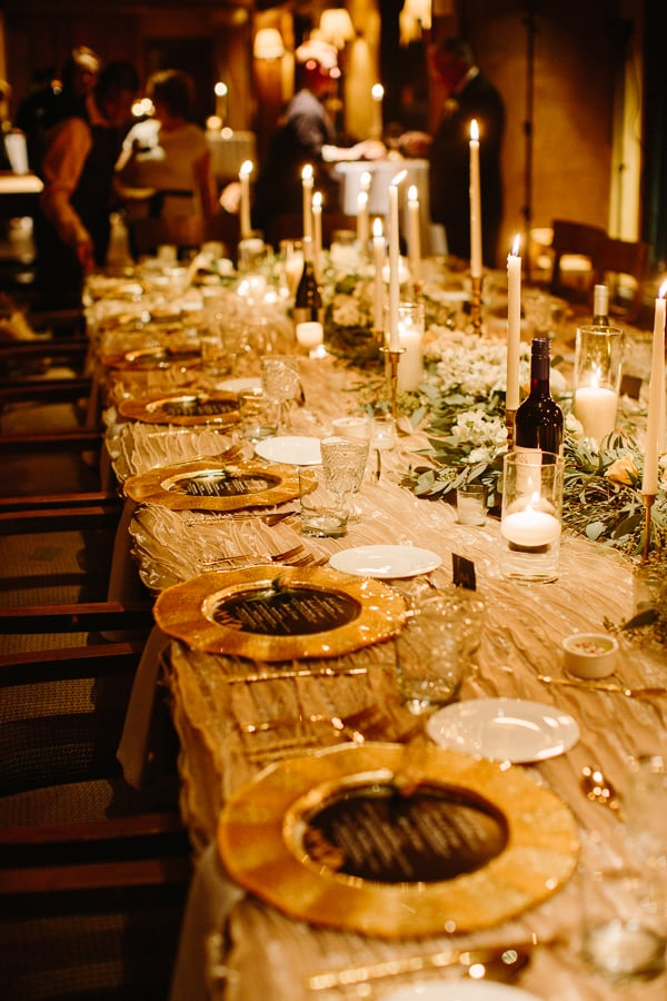 Winter wedding reception table by Stonewood Vintage | Park Hyatt Beaver Creek | Photography by Cat Mayer Studio www.catmayerstudio.com