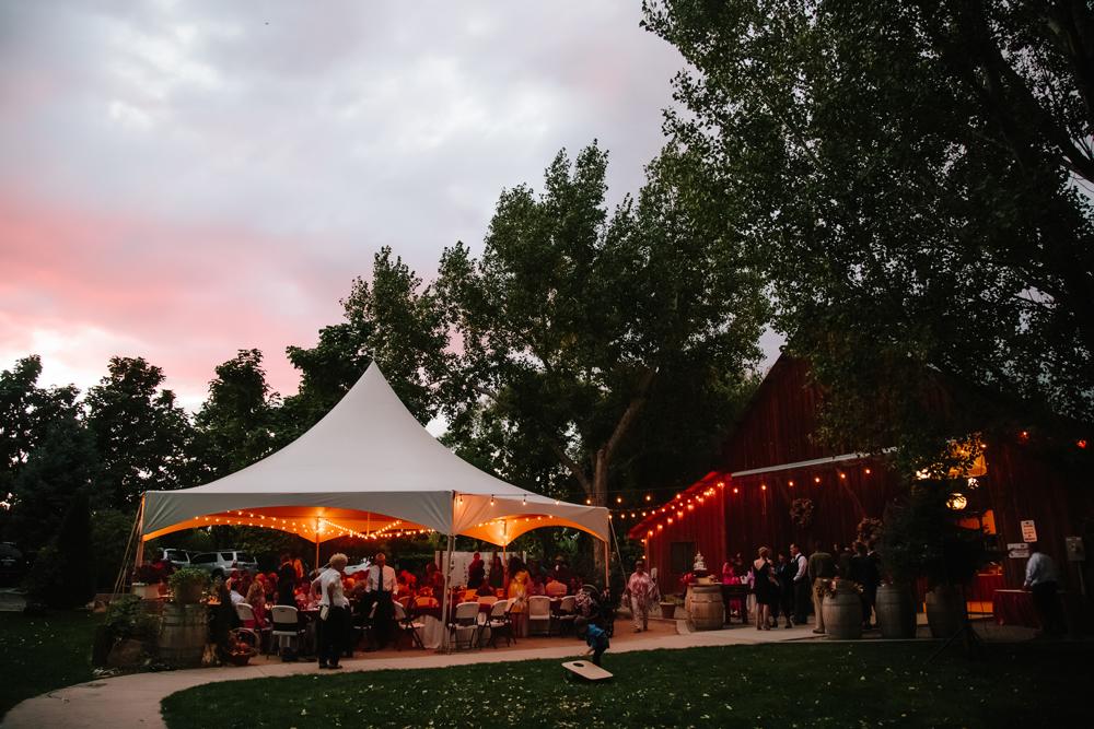 Cat Mayer Studio | www.catmayerstudio.com | Grand Junction Wedding Photography | Amy's Courtyard Tented Wedding