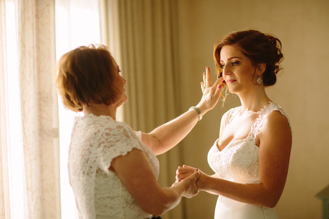 Vail Wedding | Cat Mayer Studio | Mother and daughter before ceremony