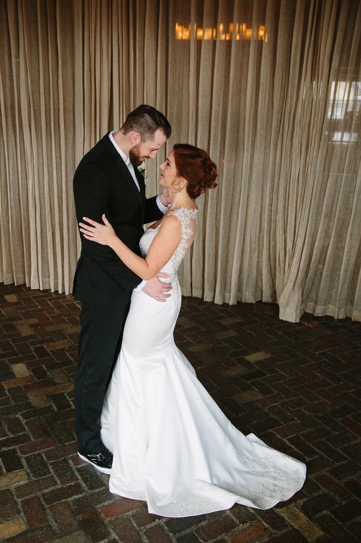 Cat Mayer Studio | www.catmayerstudio.com | Park Hyatt Beaver Creek Wedding | Bride and groom first look portraits