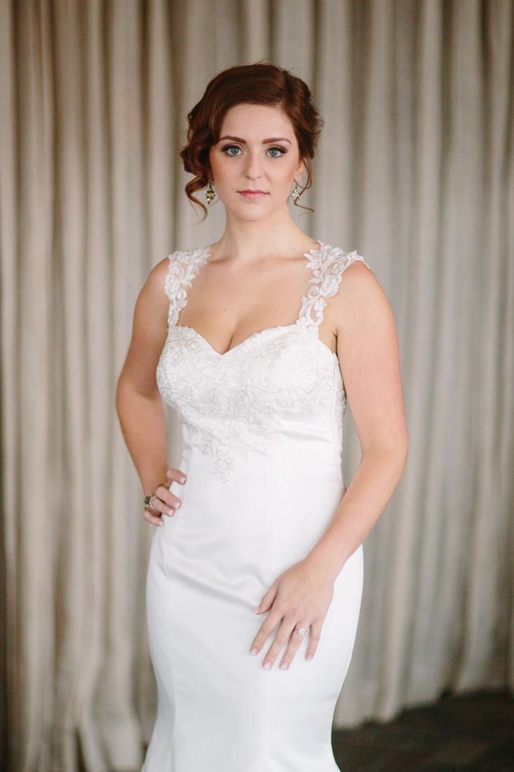 Cat Mayer Studio | www.catmayerstudio.com | Vail Wedding Photography | Bride portrait