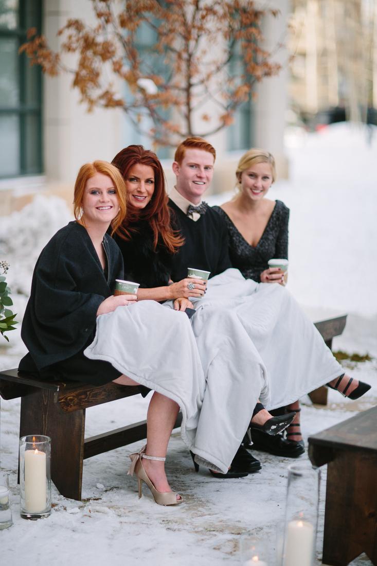 Cat Mayer Studio | www.catmayerstudio.com | Vail Wedding Photography | Park Hyatt Beaver Creek winter wedding | Wedding ceremony guests