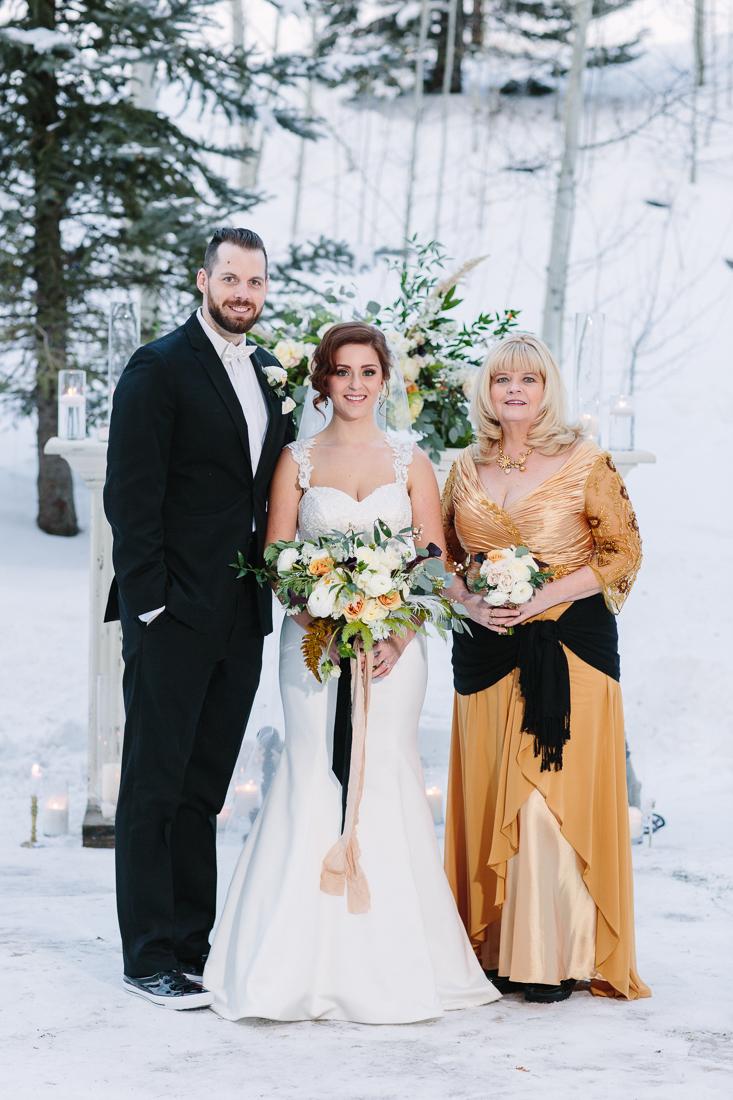 Cat Mayer Studio | www.catmayerstudio.com | Park Hyatt Beaver Creek Wedding | Vail wedding family formal portraits