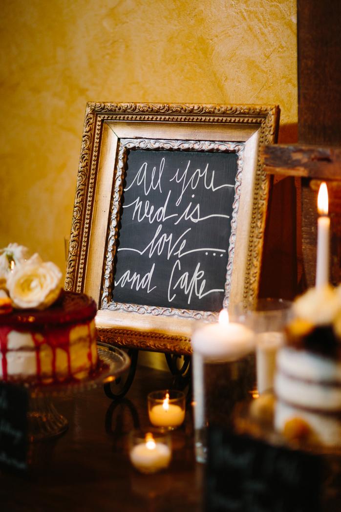Cat Mayer Studio | www.catmayerstudio.com | Park Hyatt Beaver Creek Vail Wedding | Wedding cake and signage styling by Stonewood Vintage