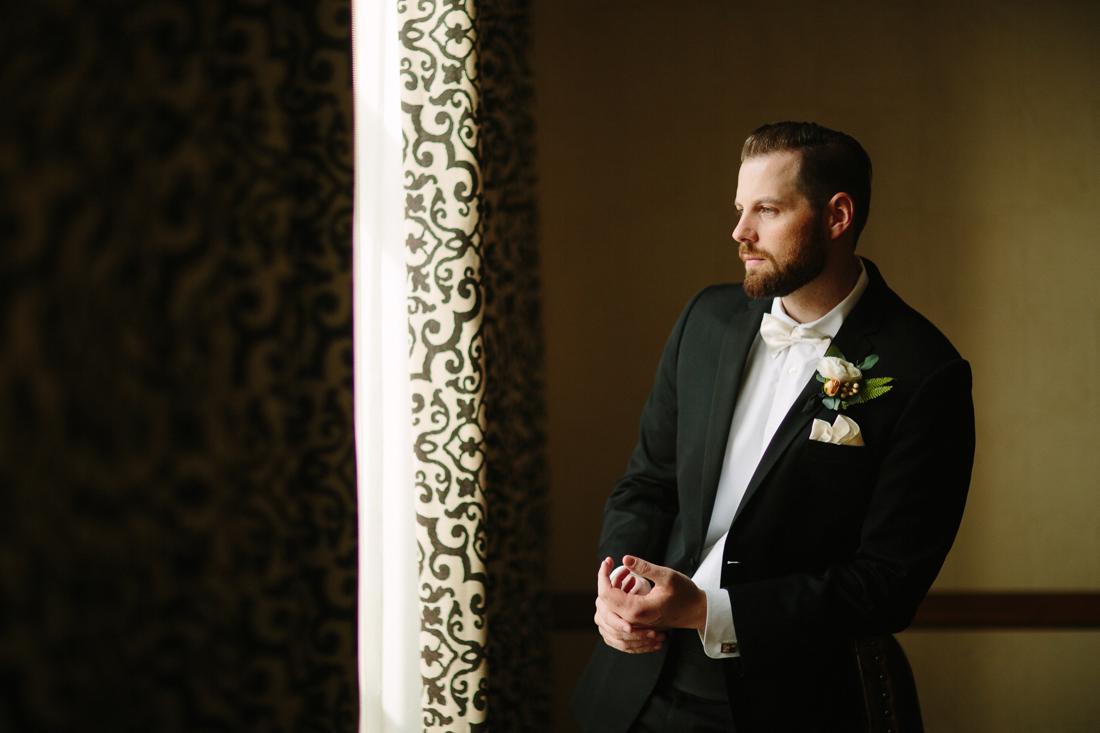 Park Hyatt Beaver Creek Wedding | www.catmayerstudio.com | Groom getting ready