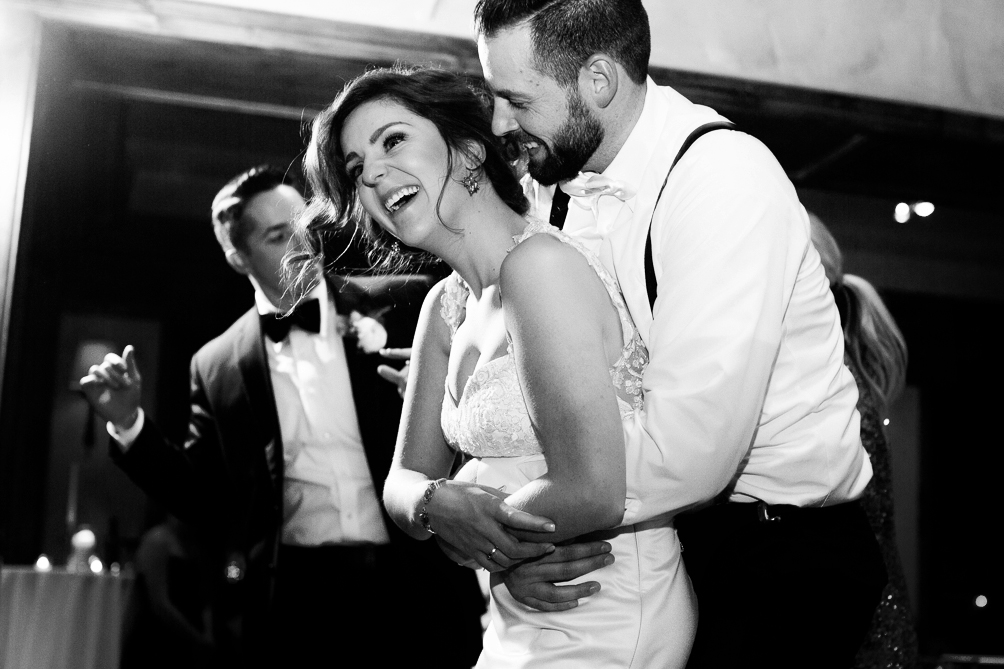 Cat Mayer Studio | www.catmayerstudio.com | Park Hyatt Beaver Creek Vail Wedding | Bride and groom dancing at reception