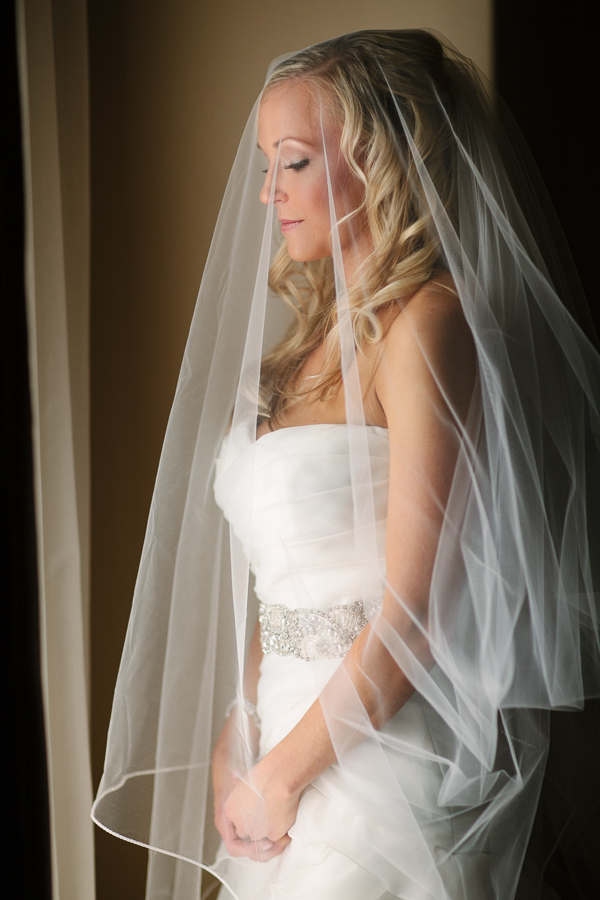 Cat Mayer Studio | www.catmayerstudio.com | San Sophia Telluride Wedding | Bride portrait by window with veil