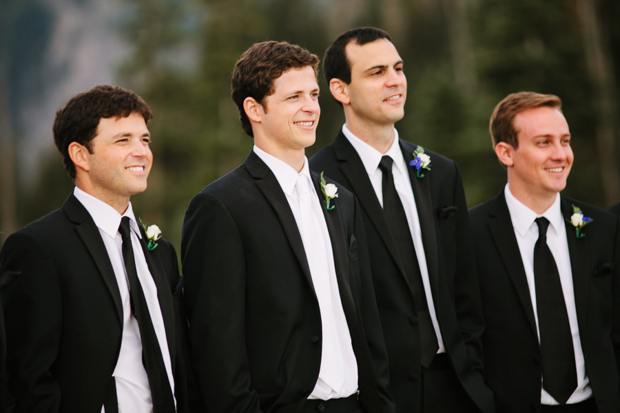 Groom with groomsmen | San Sophia Overlook Telluride Wedding | Cat Mayer Studio | www.catmayerstudio.com
