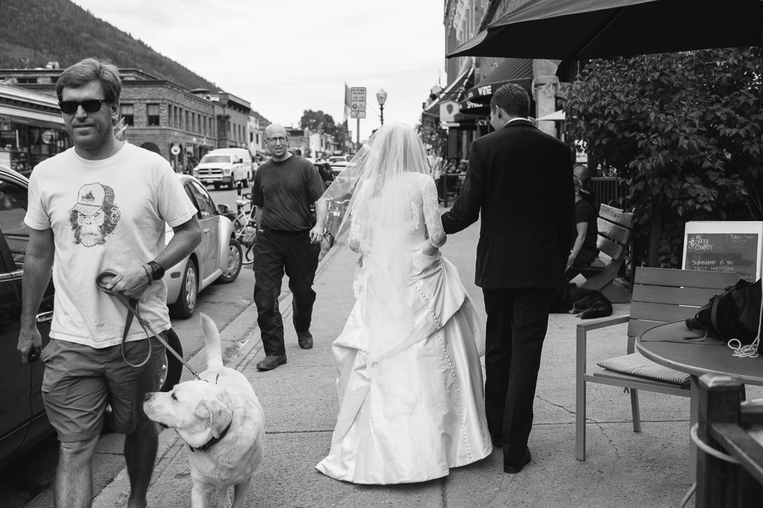 Telluride Wedding Photography | Stroll Downtown | Cat Mayer Studio | www.catmayerstudio.com