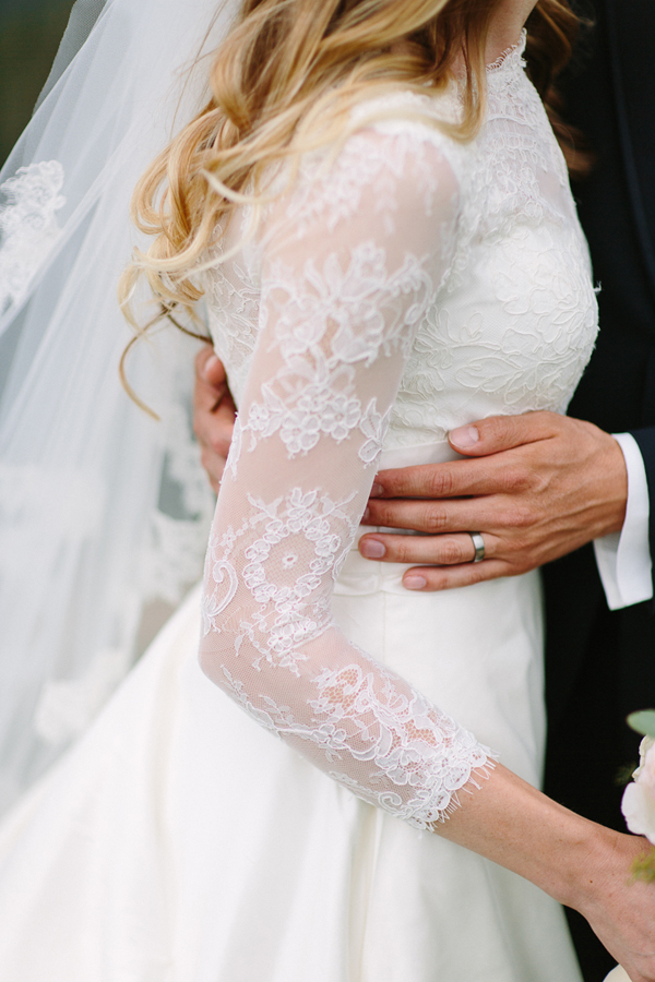 Telluride Wedding Photographer | Lace wedding dress and wedding ring | Cat Mayer Studio | www.catmayerstudio.com