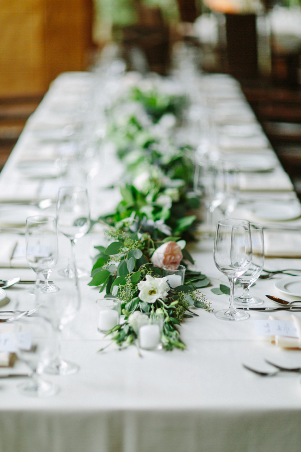 Telluride Wedding Photographer | Allred's Reception Table | Cat Mayer Studio | www.catmayerstudio.com