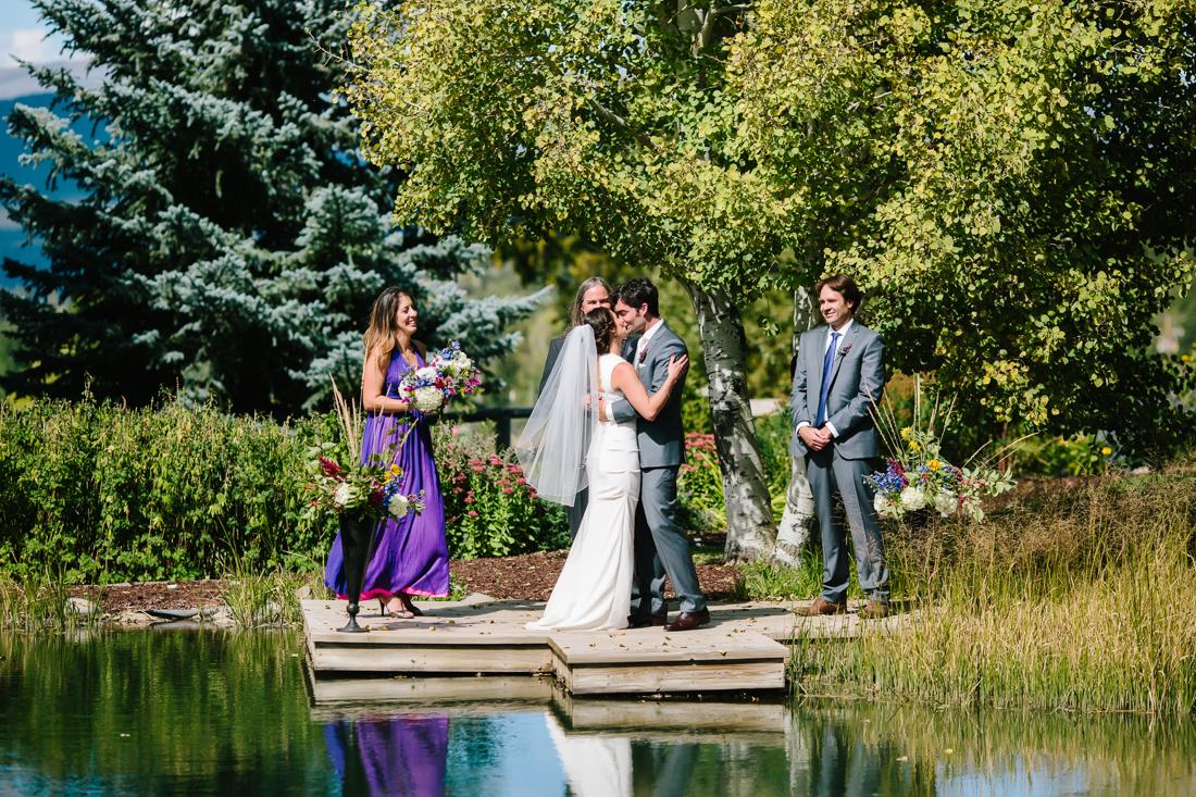 Aspen Wedding Photography | You May Kiss the Bride | Cat Mayer Studio | www.catmayerstudio.com