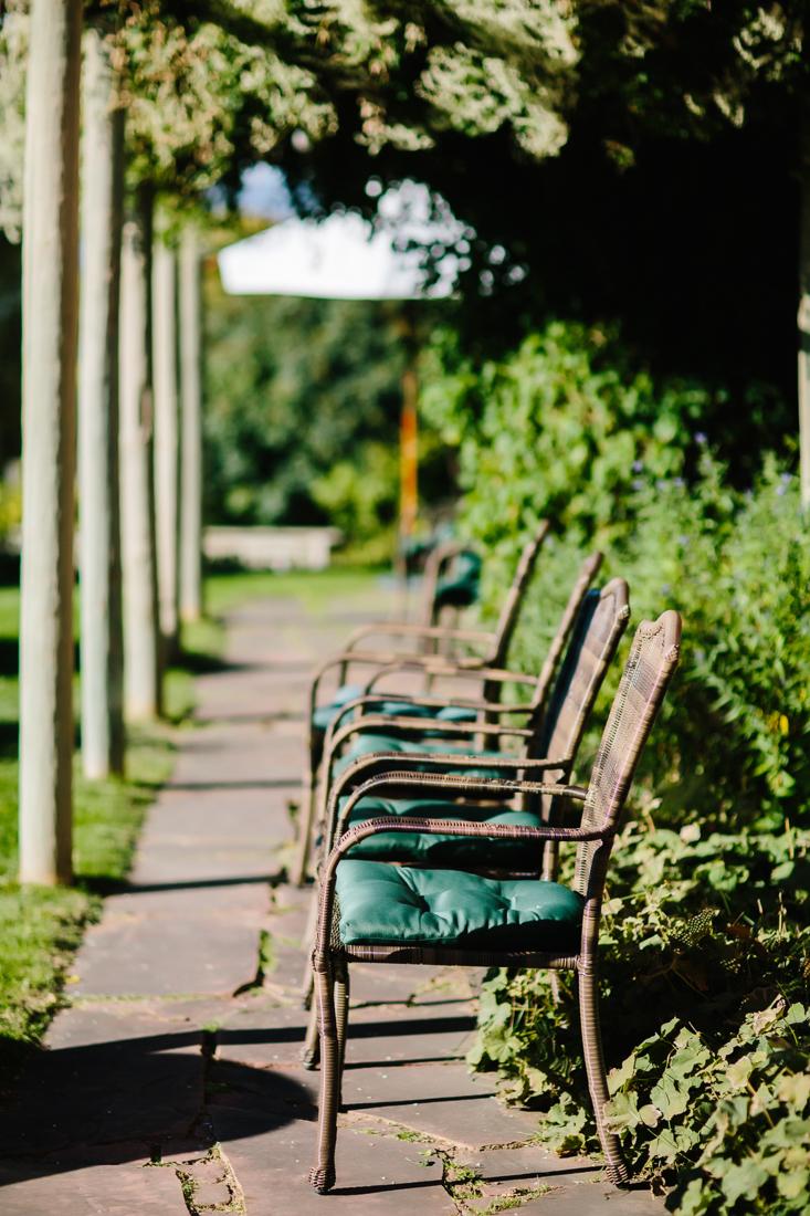 Row of Chairs at Aspen Wedding | Cat Mayer Studio | www.catmayerstudio.com