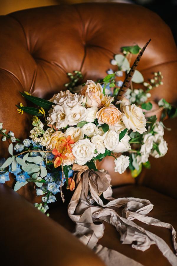 Wedding bouquet by 3 Leaf Floral | catmayerstudio.com
