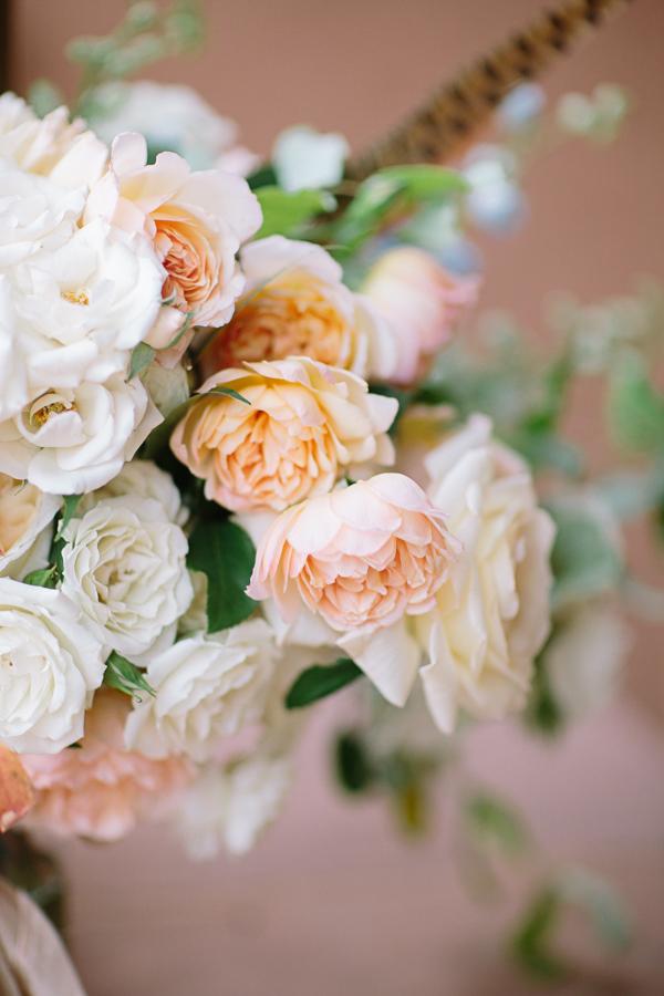 Rustic Small Pink and White Flowers | Cat Mayer Studio | www.catmayerstudio.com