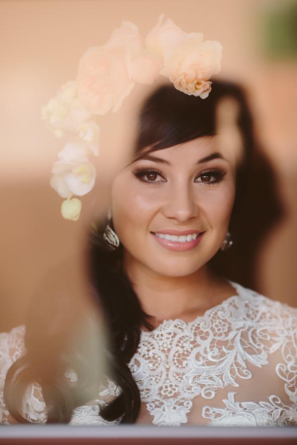 Window Reflection Glistens on Wedding Bride | Cat Mayer Studio | www.catmayerstudio.com