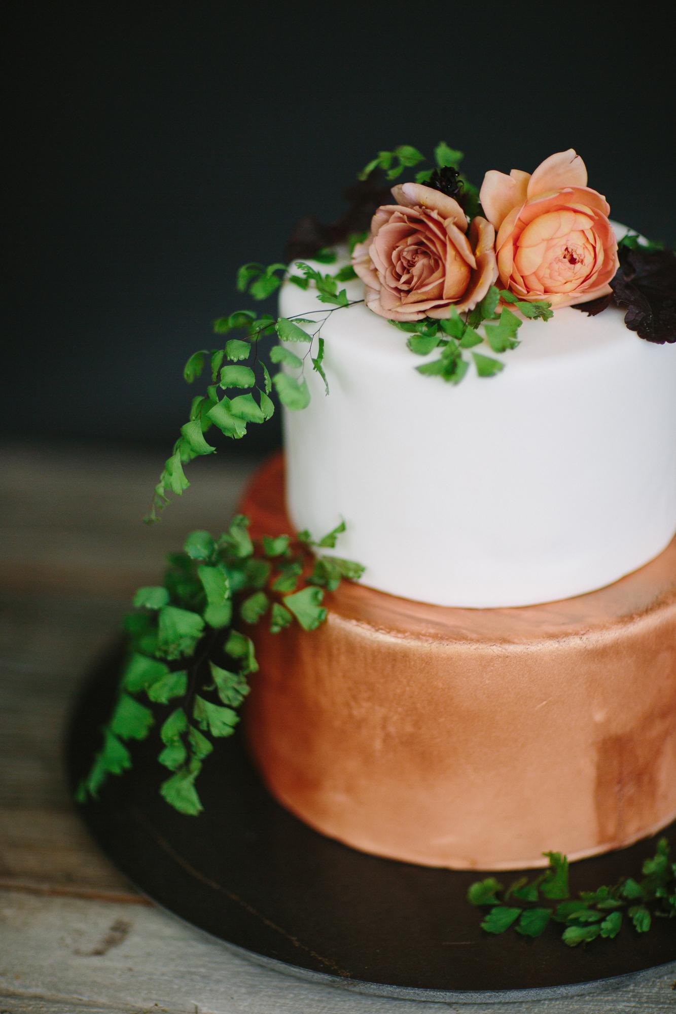Wedding cake by Bespoke Cakery Co.