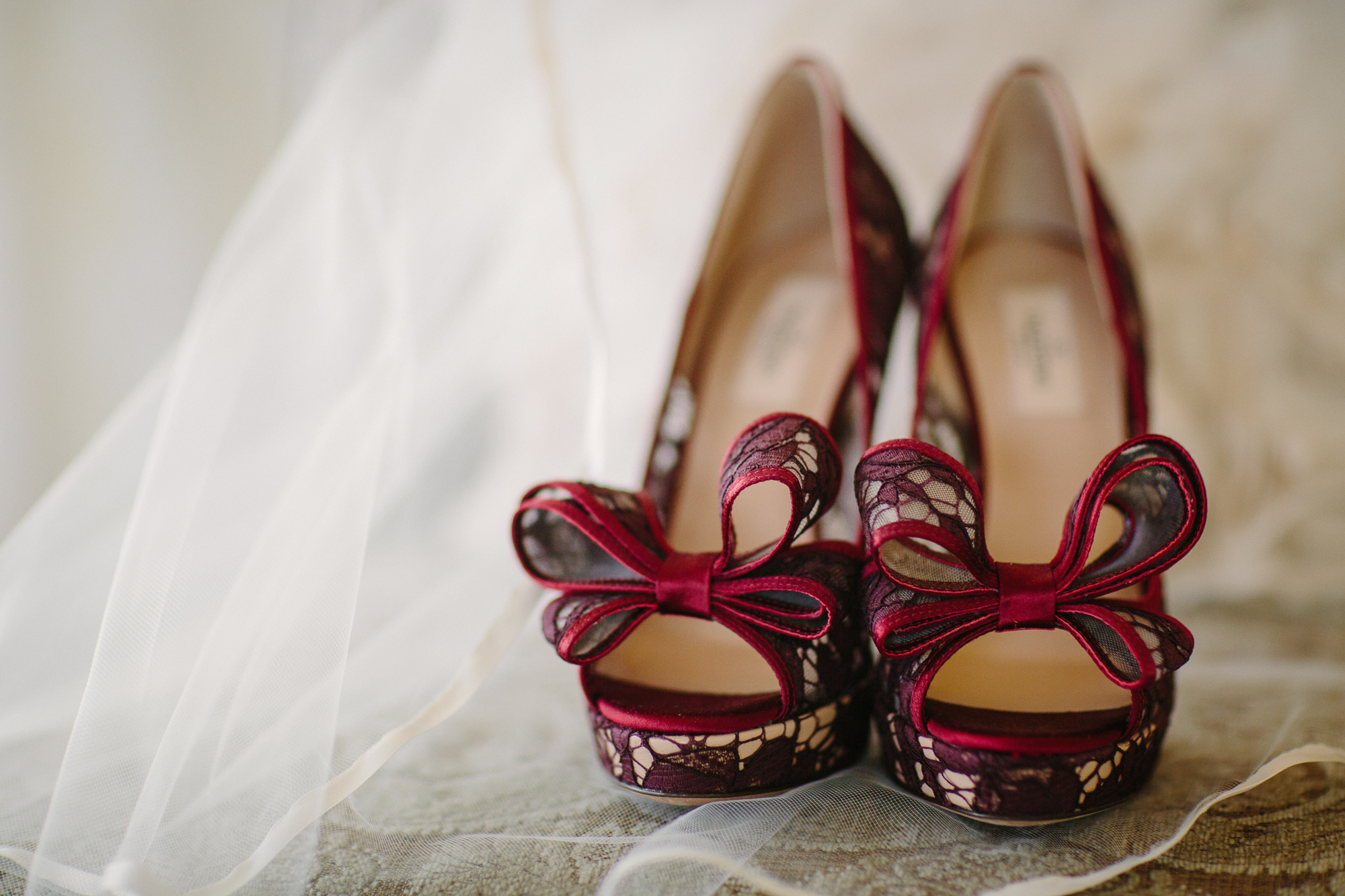 Valentino lace wedding shoes