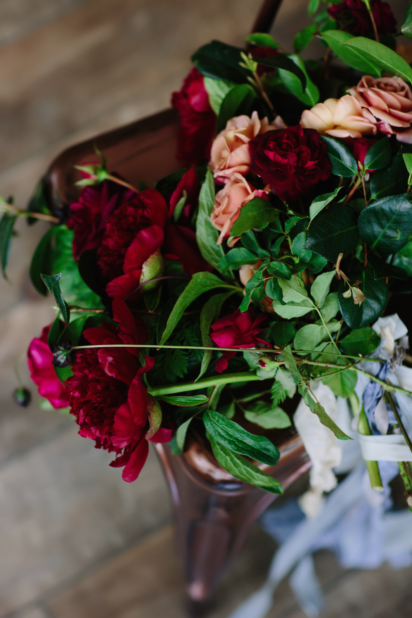 Wedding photography bouquet by Cat Mayer Studio