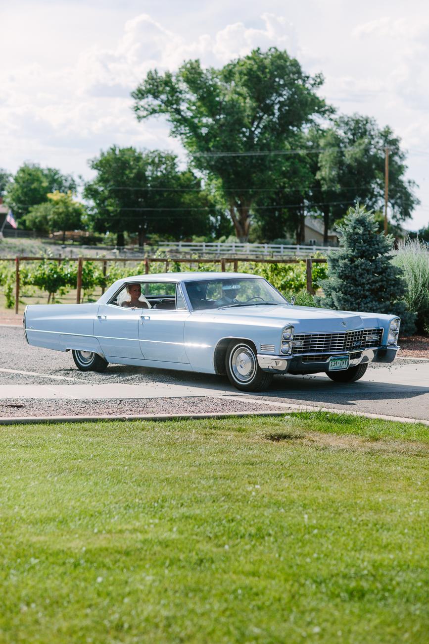 Vintage Chevy in Wedding | Cay Mayer Studio | www.catmayerstudio.com